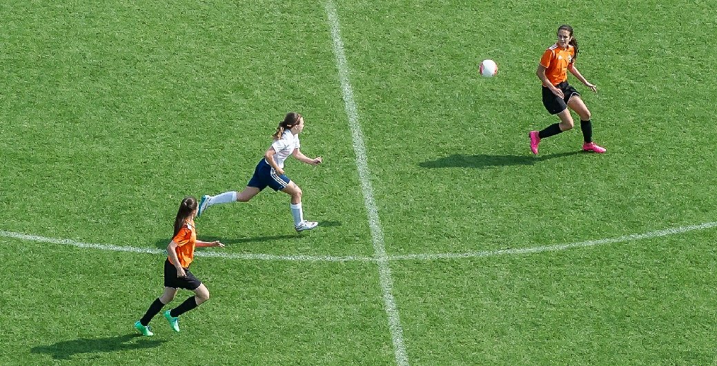 Joueuses de soccer