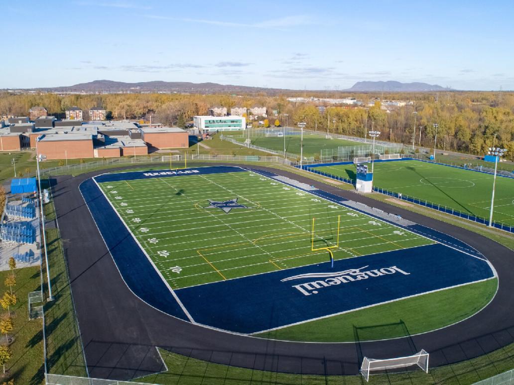 Photo terrain de football